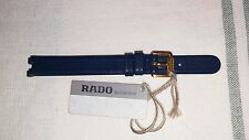 Lady Rado leather watch band, blue color, new  from old stock