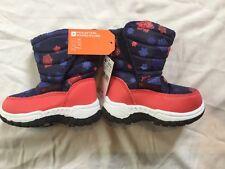 new - mountain warehouse kids snow boots - sizes UK c6, c9, c10