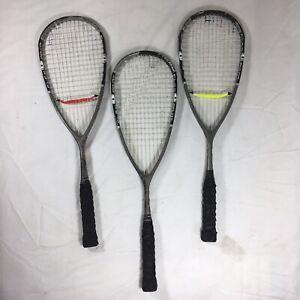 3 - Head Racquets Squash Flex Point 110 Liquid Metal