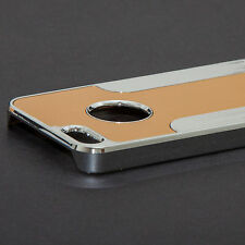 Aluminum Chrome Metal Hard Case Cover for iPhone 5S SE+ Stylus&Screen Protector