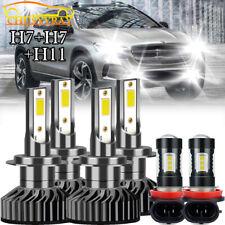 For Hyundai Tucson 2016 2017 2018 Combo LED Headlight High Low Beam Fog Light