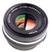 Nikon Nikkor 50 mm f 1,8 AIS Pancake  SN:4358363 Prime Lens Top Zustand