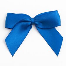 Large 5cm Self Adhesive Pre Tied Satin Bows 16mm Ribbon 1 Sample, 6 or 12 Pack