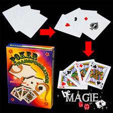 Poker Transformation - Tour de magie