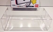 1 Box Protector for NINTENDO 2DS XL Console Boxes (NTSC) Clear Case