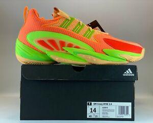 Adidas SM Crazy BYW 2.0 Mens Basketball Shoes Size 14 Scrora Aciora Red G54974