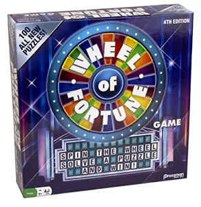 Wheel of Fortune Game 5th Edition by Pressman