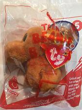 2017 McDonald's Ty Teenie Beanie Boo's - #5 Chocolate - New in Sealed Package!