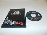 Native Duranik Atari Jaguar CD Game - Tested Homebrew