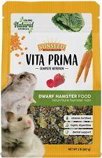 SunSeed Vita Prima Complete Nutrition Dwarf Hamster Food 2-Pounds