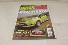 MOTOR TREND: 2010 FIESTA NOVEMBER 2008 VOL.60 #11 (OAK9248-1 [BOX U] #2323)