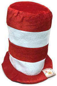 Dr. Seuss Cat In The Hat Costume  By Shalom Toys Toddler, Adults,