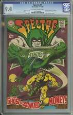 SPECTRE #7 CGC 9.4 OW/WH PAGES