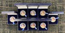 (8) 1966 & 1967 & 1968-D Painted Kennedy Half Dollars  LOT - LOOK 40% SILVER