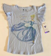 NWT Disney 5 5T Limited Edition Collection Cinderella Sequin Tee Jumping Beans