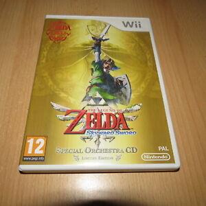 Wii - The Legend of Zelda: Skyward Sword (Wii) -orchestra cd edition pal