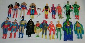 MEGO LOT. 18 FIGURES. SUPERMAN, BATMAN, FLASH, THOR, AQUAMAN, DAREDEVIL & MORE!!