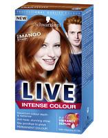 Schwarzkopf LIVE Intense 030 Mango Twist Pro Permanent Hair Colour Dye x 1