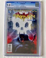 Batman Zero Year Issue 25 CGC 9.8 1:25 Variant Comic