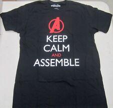 Avengers Marvel Comics Keep Calm And Assemble Men's Tee Shirt Size Small