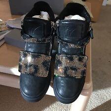 Black Leather Boots -Giuseppe Zanotti