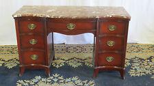 Mahogany Marble Vanity Desk Duncan Phyfe