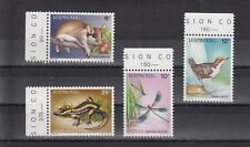 TIMBRE STAMP  4 LUXEMBOURG Y&T#1118-21 OISEAU FAUNE  NEUF**/MNH-MINT 1987 ~C04