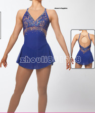 2018 New Girls Ice Figure Skating Dress Figure skaitng Dress For Competition