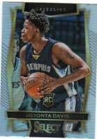 2016-17 Panini Select Concourse Level Silver Prizm #22 Deyonta Davis Grizzlies