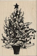 """Festive Tree"" Rubber Stamp by Penny Black"