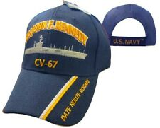 U.S. Navy USS John F. Kennedy CV-67 Date Noute Rogare Embroidered Cap Hat 550Q