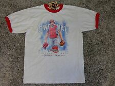 Vintage Cincinnati Reds Johnny Bench Cooperstown T-Shirt  ( L ) Free Shipping !!