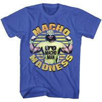 OFFICIAL Macho Man Randy Savage Madness Wrestling Men's T-shirt S 5XL