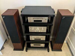 Teac Stereo Hifi System / PD-H500 CD, A-H500 Amp, A-H500 Cassette, T-500 AM/FM