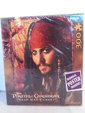Pirates of the Caribbean Dead Mans Chest / Jack Sparrow Puzzle 300 Piece NEW