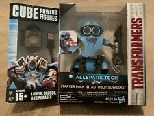NIB - Transformers Allspark Tech Cube Powers Starter Pack Autobot Sqweeks - NEW