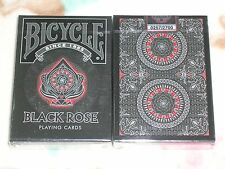one deck Bicycle Black Rose Playing Cards