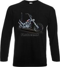 Camisetas de hombre negro B&C 100% algodón