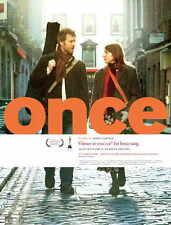 ONCE Movie POSTER 27x40 Norwegian Alaistair Foley Catherine Hansard Glen Hansard