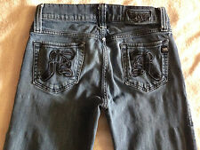 Rock & Republic Button Fly Womens Size 31 Jeans Pants ~ USED