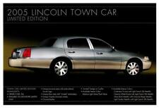 Print.  2005 Lincoln Town Car Limited Ed Auto Advertisement