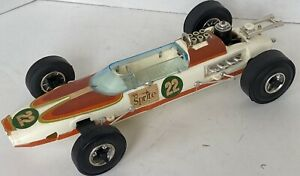 1970's Testors Sprite-Sponsored, Gas-Powered Indy 500 Tether Race Car
