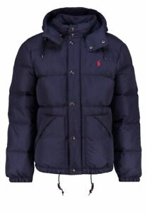 Men's Polo Ralph Lauren Elmwood Down Fill Jacket Worth Navy Blue Size XXL