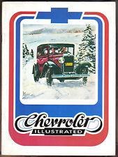 Chevrolet Illustrated Spring 1975 Vol 1 No 1 1930 Roadster 1957 Corvette V-16 +
