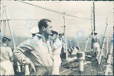More details for 1940s st johns original photo, governor earl oliver baldwin of bewdley 4.75*3.2