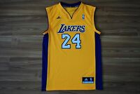 b823a806a LOS ANGELES LAKERS  24 KOBE BRYANT SIZE S SMALL BASKETBALL SHIRT JERSEY NBA
