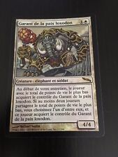 MTG MAGIC MIRRODIN LOXODON PEACEKEEPER (FRENCH GARANT DE LA PAIX LOXODON NM FOIL