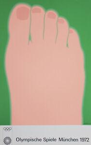 Original Large Tom Wesselman 1972 Silkscreen Mid-Century Modern Pop Art Work