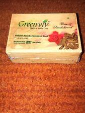 Greenviv Natural Body Care Soap Rose & Sandalwood 100g