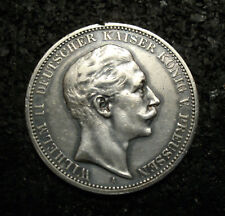 3 Mark - Preussen - 1908 - A - Wilhelm II. - Echte alte Münze - (uC1N233)